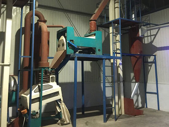 oilseeds pretreatment machine